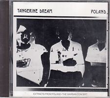 TANGERINE DREAM - Poland 💿 CD