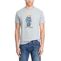 Polo Ralph Lauren Polo Bear Denim American Flag T-shirt Size M & XXL NWT Rare