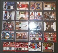 20 ASSORTED MULTIPLE JERSEY INSERT BASKETBALL CARDS  YYY