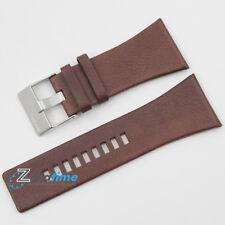 New Original DIESEL Replacement Watch Strap DZ1254 Brown Genuine Leather 34mm