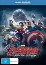 NEW REGION 4 Avengers - Age Of Ultron (DVD, 2015)