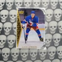 2020-21 Upper Deck Hockey Series 2 Alexis Lafreniere Die-Cut Gold RC #RDT-11 SP