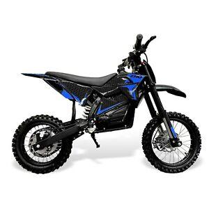 Electric 60V 1800W Kids Dirt Bike – Blue
