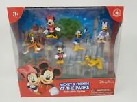 Disney Parks Mickey Mouse and Friends at the Parks 6 Piece Figures Playset NEW
