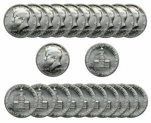 1976 S Kennedy 40 % SILVER Half Dollar 50c BU     Roll of 20 Coins