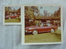 AUTO DE ÉPOCA Foto Rojo 1966 RENAULT CARAVELLE AUTOMOBILE 793