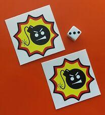 Serious Sam Stickers Autocollants x 2 60 mm Retro XBOX GAME BOY ps2