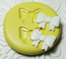 Silicone Resin Polymer Clay Fondant Mold RIBBON BOWS