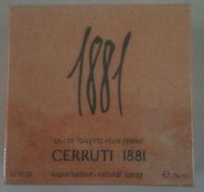 CERRUTI 1881 EAU DE TOILETTE POUR FEMME SPRAY 50ML NEW & SEALED