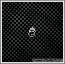 BonEful Fabric FQ DECOR Black Gray Check Man Cave Upholstery RARE Gingham Nascar