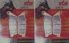 Honda CB 600 Hornet S 2000-SBS Delantero Pastillas De Freno STREET Excel Travertino - 627HS