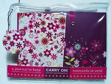 Austin Flowers Carry on Notecard Set with Journal