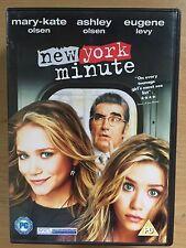 Mary-Kate & Ashley Olsen NEW YORK MINUTE ~ 2004 Famille Film DVD