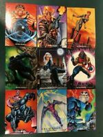 1992 Marvel Masterpieces BASE Card Singles PICK / Choose (Used in 2016 Buyback)