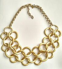Stella Dot Gold Tone Chain Link Necklace