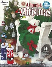 A Crochet Christmas Annie's Attic Instruction Patterns 2015 NEW Ornaments Angel+