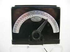 Vintage Franz Electric Metronome Lm-4 Art Deco Bakelite with Chart