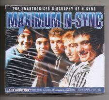 N-SYNC:Unauthorised Bio of...(UK) 1999 CD Spoken Word/Interviews