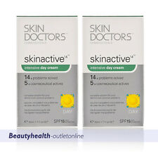 Skin Doctors SKINACTIVE14 DAY CREAM 50ml x2 Anti-aging CLEARANCE SALE FREE POST