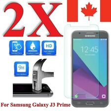 Premium Screen Protector Cover for Samsung Galaxy J3 Prime (2 PACK)
