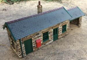 Scratch built 009 narrow gauge station building