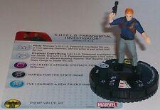 SHIELD PARANORMAL INVESTIGATOR 008A Nick Fury Agent of S.H.I.E.L.D HeroClix