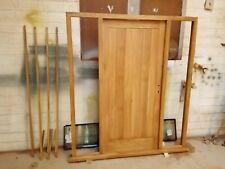 Solid Oak External Front Door