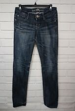 ALMOST FAMOUS WOMENS JUNIORS SZ. 7 STRETCH DISTRESSED JEANS PANTS