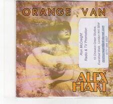 (FB206) Alex Hart, Orange Van - 2013 DJ CD