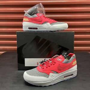 New Nike Air Max 1 Clot 'Kiss of Death' Size 9.5 Solar Red DD1870-600 In Hand!