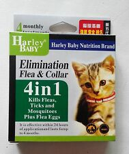Anti Flea & Tick Collar for Cat 4 Months Protection Adjustable Length 19-31cm