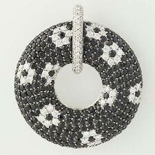 Roberto Coin Fantasia Colgante - 18 Ct Negro Oro Zafiros & Diamantes 10.06ctw