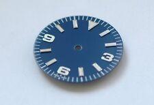 Plain Explorer Watch Dial for ETA 2836 / 2824 Movement Blue