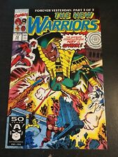 The New Warriors#13 Incredible Condition 9.4(1991) Juggernaut, Magneto!!