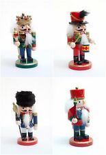20cm Nutcracker Christmas Toy Soldier Nut Crackers Wooden Decoration Xmas Gift
