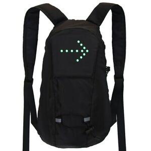 Bicycle Waterproof Sport Bag  LED Turn Signal Backpack