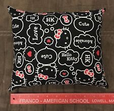 "Handmade Hello Kitty Accent - Throw Pillow 10"" x 8"""