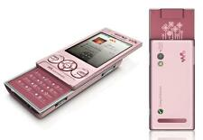 New Sony Ericsson W705 Slide Walkman Pink Unlocked 3.15MP WIFI MP3 Mobile Phone