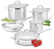 Genuine SCANPAN Impact 5pc Set Saucepan, Dutch Oven, Frypan, Stockpot  Saute Pan