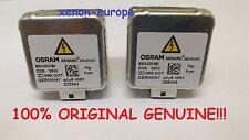 2pcs 2x D3S Osram 66340 Xenon Bulbs Original Genuine Pair HID