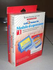 GRILLO PARLANTE PIU' Modulo d'espansione n.1 Texas Instruments Speak & Spell