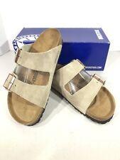 Birkenstock Arizona BS Women's Size 9 (EU40)Reg Fit Taupe Suede Sandals KB-1766