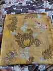 Rare Antique fabric, tapestry, brocade with gold threads.