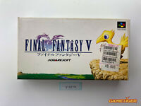 FINAL FANTASY V 5 Nintendo Super Famicom SFC JAPAN Ref:315276