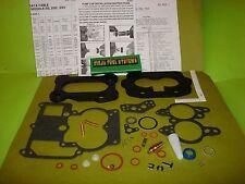 ROCHESTER 2GC REBUILD KIT 1971 1972 CHEVY PONTIAC 307 CHEVY GMC TRUCK 2 BARREL