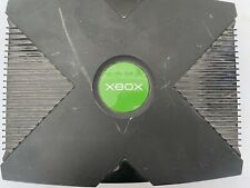 Original Classic Microsoft Xbox Black Console Only For Parts Disc Tray Stuck #1
