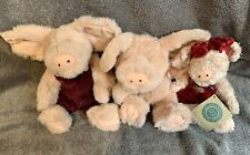 The Boyds Collection Ltd Lot of 3 Pigs - Prim Rose, Rosie & Kaitlin