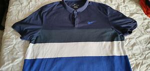 "Poloshirt "" NIKE "" Blau * Herren * Gr.XXL/2XL * Urlaub*modern Sport Büro Sommer"