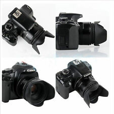 49mm Flower Shape Petal Lens Hood Mount for Canon Nikon Sony Pentax DSLR CAMERA