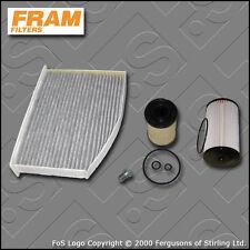 KIT di servizio SKODA OCTAVIA (1Z) 1.6 TDI FRAM Olio Carburante Cabin filtri (2009-2013)